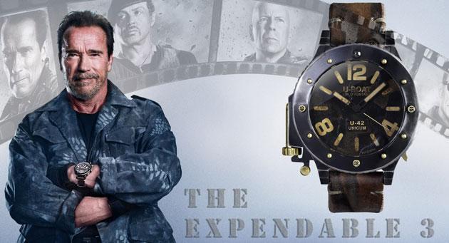 Watches In Movies Arnold Schwarzenegger Wearing U Boat