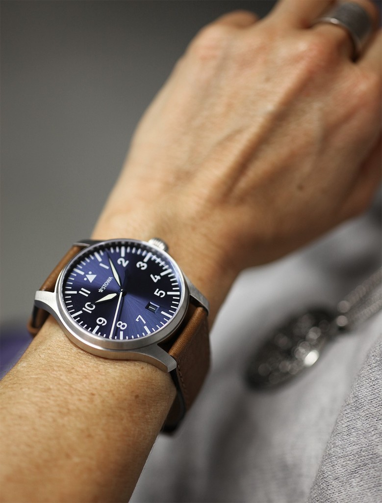Limited edition Flieger watch made by Stowa in Germany ...