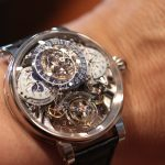 Bovet 1822 Recital 20 Asterium shot in the boutique in Geneva