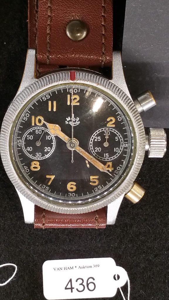 A Moskau Uhrenfabrik Chronograph