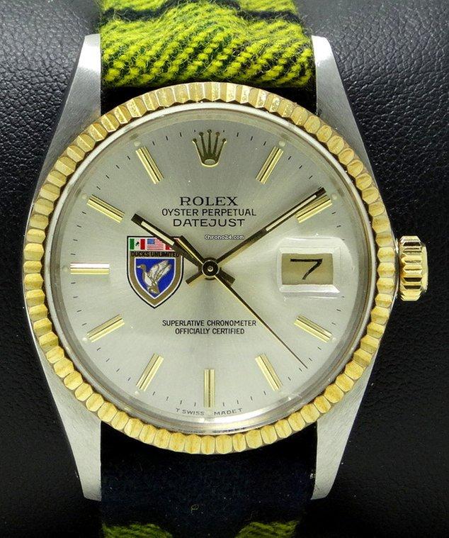 Rolex datejust 16013 - Ducks Unlimited Logo