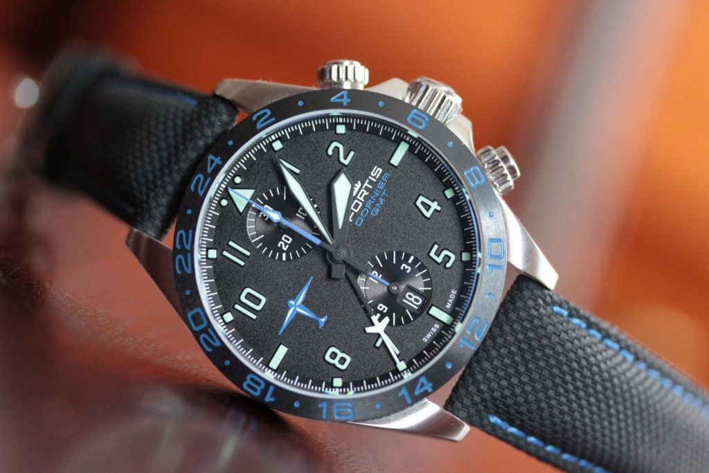 Fortis Dornier GMT chronograph
